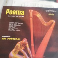 Discos de vinilo: POEMA TANGOS HI-FI. Lote 194996891