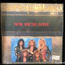 Discos de vinilo: WHITESNAKE-NOW YOU'RE GONE. Lote 194996988
