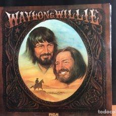 Discos de vinilo: WAYLON JENNINGS & WILLIE NELSON: WAYLON & WILLIE (LP, ALBUM) (D:NM). Lote 194997502