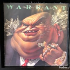 Discos de vinilo: WARRANT - DIRTY ROTTEN FILTHY STINKING RICH. Lote 194997522