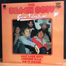 Discos de vinilo: THE BEACH BOYS - GOOD VIBRATIONS (LP, COMP) (MUSIC FOR PLEASURE) MFP 50234 (D:NM). Lote 195001223