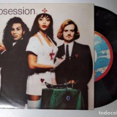 Discos de vinilo: ARMY OF LOVERS - OBSESSION - SINGLE 1992. Lote 195001246