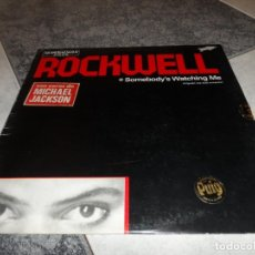 Discos de vinilo: ROCKWELL SOMEBODY'S WATCHING ME. Lote 195001336