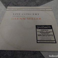 Discos de vinilo: LIVE CONCERT GLENN MILLER. Lote 195001660