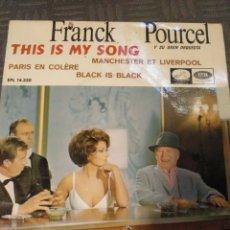Discos de vinilo: FRANCK POURCEL. Lote 195002142