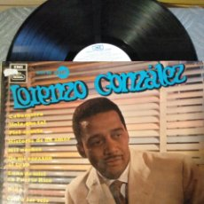 Discos de vinilo: LORENZO GONZÁLEZ. Lote 195003316