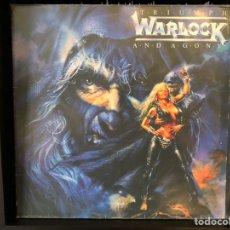 Discos de vinilo: WARLOCK - TRIUMPH AND AGONY. Lote 195003347