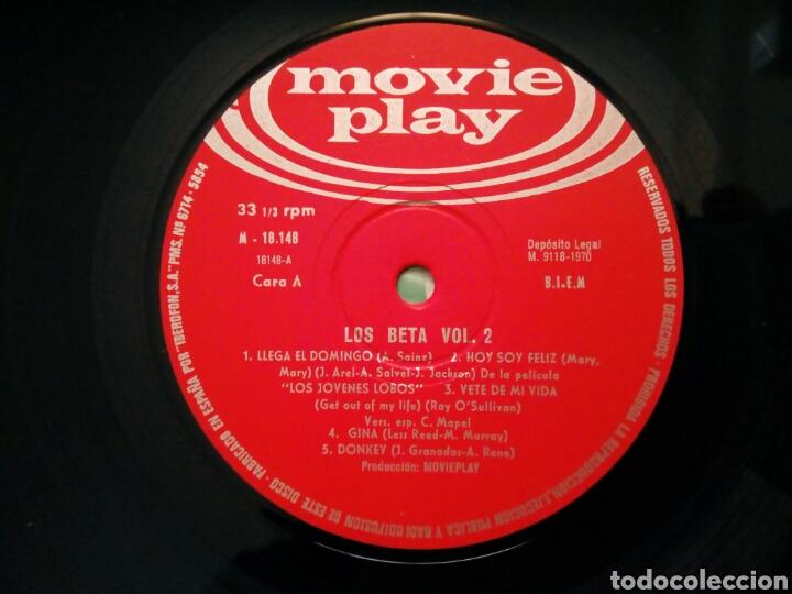 Discos de vinilo: LP: LOS BETA - Vol. 2 (Movieplay, 1970) - 60s Spanish Rock Soul Pop Beat Fuzz - - Foto 3 - 195003502