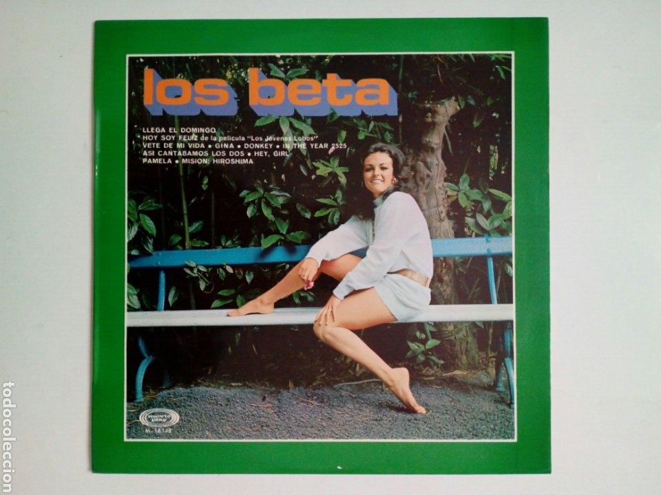 LP: LOS BETA - VOL. 2 (MOVIEPLAY, 1970) - 60'S SPANISH ROCK SOUL POP BEAT FUZZ - (Música - Discos - LP Vinilo - Grupos Españoles 50 y 60)