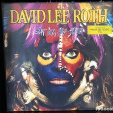 Discos de vinilo: DAVID LEE ROTH (VAN HALEN)- EAT EM'AND SMILE. Lote 195003640