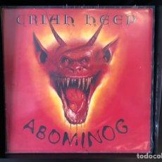 Discos de vinilo: URIAH HEEP - ABOMINONG. Lote 195004372
