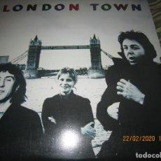 Discos de vinilo: WINGS - LONDON TOWN LP - ORIGINAL ITALIANO - EMI/PARLOPHONE 1978 CON FUNDA INT. ORIGINAL MUY NUEVO 5. Lote 195004616