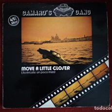 Discos de vinilo: CAMARO´S GANG - MOVE A LITTLE CLOSER - MAXI. Lote 195006438
