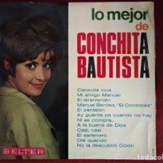 Discos de vinilo: CONCHITA BAUTISTA - LO MEJOR DE CONCHITA BAUTISTA - BELTER 22.027 - 1966. Lote 195006926
