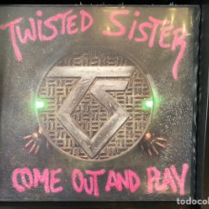 Discos de vinilo: TWISTED SISTER - COME OUT AND PLAY. Lote 195007232