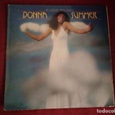 Discos de vinilo: DONNA SUMMER - A LOVE TRILOGY LP PARTIALLY MIXED 1976 DISCO . Lote 195007467