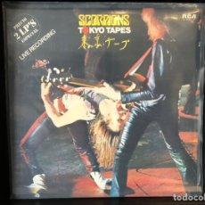 Discos de vinilo: SCORPIONS - TOKYO TAPES. Lote 195007742