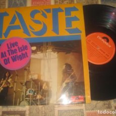 Discos de vinilo: TASTE - LIVE AT THE ISLE OF WIGHT - (POLYDOR -1972) OG ESPAÑA SIN SEÑALES DE USO. Lote 195008478