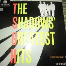 Discos de vinilo: THE SHADOWS - GREATEST HITS LP - EDICION INGLESA - COLUMBIA RECORDS 1963 - STEREO -. Lote 195009087