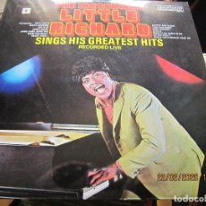 Discos de vinilo: THE INCREDIBLE LITTLE RICHARD LP - EDICION INGLESA - COUNTOUR RECORDS 1966 - MUY NUEVO (5). Lote 195009677