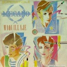 Discos de vinilo: MECANO - MAQUILLAJE, NAPOLEON, SUPER-RATON - MAXI-SINGLE SPAIN 1982. Lote 195012805