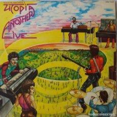 Discos de vinilo: TOOD RUNDGREN. UTOPIA. ANOTHER LIVE. LP ORIGINAL 1976. Lote 195013012