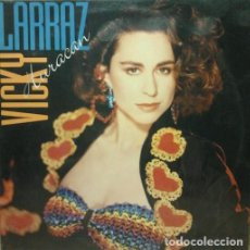 Discos de vinilo: VICKY LARRAZ - HURACAN - LP SPAIN 1989. Lote 195013731