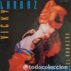 Discos de vinilo: VICKY LARRAZ, EL AMOR ES EL HURACÁN, MAXI-SINGLE SPAIN 1989. Lote 195014092