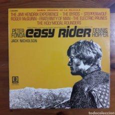 Discos de vinilo: BUSCANDO MI DESTINO (EASY RIDER) JIMI HENDRIX, STEPPENWOLF.... Lote 195014701