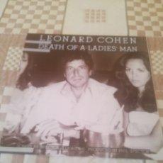 Discos de vinilo: LEONARD COHEN. DEATH OF A LADIES MAN.CBS 32661.REEDICIÓN ESPAÑOLA 1985.IMPECABLE.. Lote 195015653