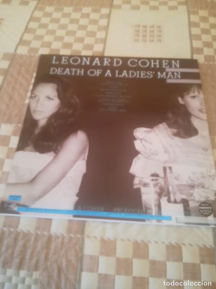 Discos de vinilo: Leonard Cohen. Death of A Ladies Man.CBS 32661.Reedición española 1985.Impecable. - Foto 2 - 195015653