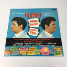 Discos de vinilo: LP - ELVIS PRESLEY - DOUBLE TROUBLE (SOUNDTRACK, REEDICIÓN UK). Lote 195017155