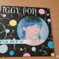 Discos de vinilo: LP IGGY POP PARTY ARISTA 1981 ENGLAND. Lote 195018363