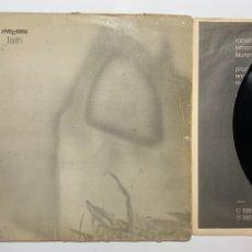 Discos de vinilo: LP THE CURE FAITH EDICIÓN ESPAÑOLA DE 1981. Lote 195018972