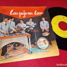 Discos de vinilo: LOS PAJAROS LOCOS MIRA COMO BAILO YO/CORAZON/SI DE MI TE ALEJAS/DESPEINADA EP 1964 IBEROFON. Lote 195019045