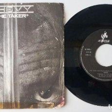 Discos de vinilo: CHEVY / THE TAKER / SINGLE 7 INCH. Lote 195020393