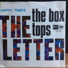 Discos de vinilo: THE BOX TOPS - THE LETTER (SINGLE) (STATESIDE) LSS 613 (D:NM). Lote 195023303