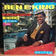 Discos de vinilo: BEN E. KING - THE HERMIT OF THE MISTY MOUNTAIN (EP) (BELTER) 51.361 (D:NM). Lote 195023880