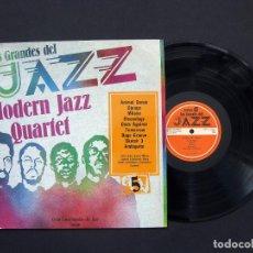 Discos de vinilo: MODERN JAZZ QUARTET – LOS GRANDES DEL JAZZ 5 – VINILO 1980. Lote 195024032