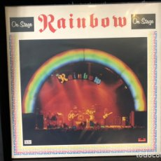Discos de vinilo: RAINBOW - ON STAGE. Lote 195024182