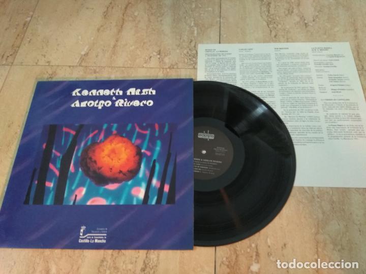 KENNETH NASH & ADOLFO RIVERO  LIVE- PRODUCCIONES ADOLFO RIVERO –PAR LP 911- EXPERIMENTA, AVANTGARDE (Música - Discos - LP Vinilo - Grupos Españoles de los 70 y 80)