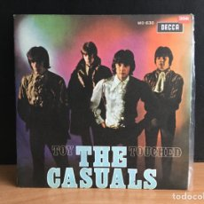 Discos de vinilo: THE CASUALS - TOY / TOUCHED (SINGLE) (DECCA) MO-630(D:NM). Lote 195026967