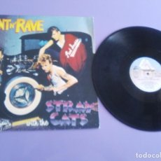 Discos de vinilo: GENIAL LP. ORIGINAL. STRAY CATS - RANT N' RAVE. SELLO DACAPO STRAY 3. (205 677 ) AÑO 1983. PORTUGAL.. Lote 195027452