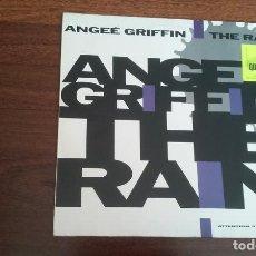 Discos de vinilo: ANGEÉ GRIFFIN-THE RAIN.MAXI. Lote 195027981
