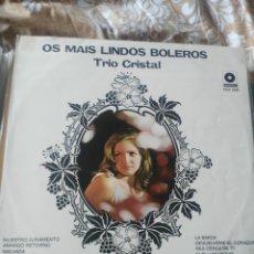 Discos de vinilo: TRIO CRISTAL. Lote 195028247
