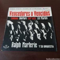 Discos de vinilo: RALPH MARTERIE Y SU ORQUESTA - VENCEDORES O VENCIDOS. Lote 195028862