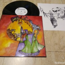 Discos de vinilo: ORACLE LP 1989 CAMBAYA RECORDS SPANISH HEAVY METAL RARO -MINT!! CONTIENE INSER. Lote 195028947