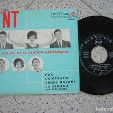 Discos de vinilo: DISCO EP DE LOS TNT CONTIENE 4 TEMAS AÑO 1963. Lote 195029660