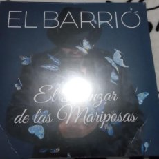 Discos de vinilo: EL BARRIO EL DANZAR DE LAS MARIPOSAS VINILO. Lote 195029921