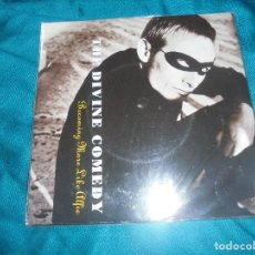 Discos de vinilo: THE DIVINE COMEDY. BECOMING MORE LIKE ALFIE / YOUR DADDY´S CAR. SETANTA, 1996. IMPECABLE. (#). Lote 195029935